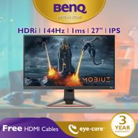 Monitor 144Hz BenQ MOBIUZ EX2710 27 inch 1ms IPS HDR Gaming Monitor