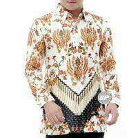 Kemeja batik terbaru semi sutra lapis furing BP16