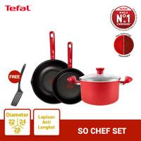 Tefal Wajan & Panci So Chef Set 1 - Penggorengan