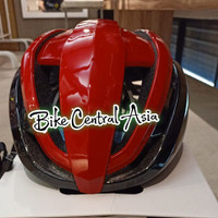 HJC IBEX 2.0 BLACK RED SIZE L HELM SEPEDA