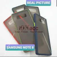Samsung Galaxy Note 8 Soft Case Matte Armor Colored Froasted Macaron
