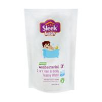 Sleek Baby 2in1 Hair & Body Foamy Wash 250ml Pouch