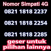 nomor cantik simpati 4G LTE telkomsel