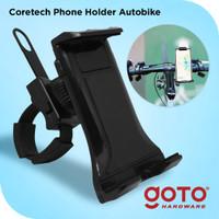 Coretech Autobike Phone Holder Pegangan Stand Hp Motor Sepeda