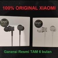 Headset Earphone Xiaomi Mi A1 / Mi 5X / Mi Max 2 / Redmi 4X Original - Hitam