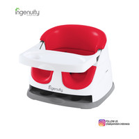 Baby Booster Seat Ingenuity Baby Base 2-in-1 Seat - Poppy Red