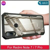 Hard Case Xiaomi Redmi Note 7 Pro Redmi Note 7 6.3 Inch Casing Premium - Hitam