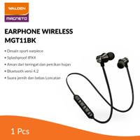 Walden Earphone Wireless Sport Magneto / Earphone Bluetooth MGT11BK