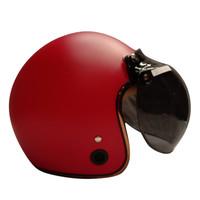 Helm Bogo / Helm Retro / HKM List Chrome Red Doff Gold