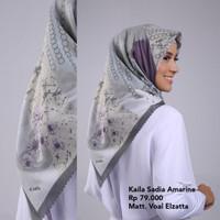 Hijab Jilbab Kerudung Segi Empat KAILA SADIA AMARINE ELZATTA Original