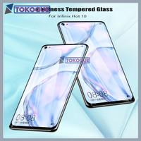 Tempered Glass Full Layar Infinix Hot 10 6,78 Inch Clear Screen Guard