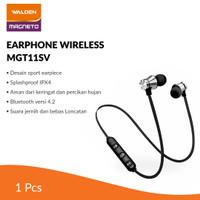 Walden Earphone Wireless Sport Magneto / Earphone Bluetooth MGT11SV