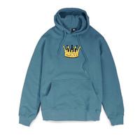 Hoodie Stussy Chenille Crown Original Teal