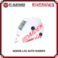 Daiden Topeng Las Kedok Las Helm Auto Dark Kanno 500 Putih True Colour