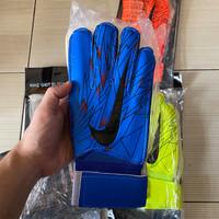 Sarung Tangan Kiper Nike Tulang Impor - Biru, 8