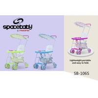 STROLLER BABY CHAIR MUSIK SPACEBABY SPACE BABY SB106S SB 106S SB 106 S