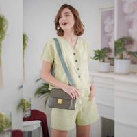 Yuri Set + Shorts Beatrice Clothing - Pakain Setelan Wanita
