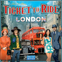 Board Game Ticket To Ride LONDON Family Cafe Boardgame