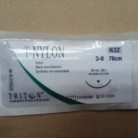 T Nylon 3-0 N32