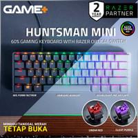 Huntsman Mini 60% Gaming Keyboard with Razer™ Optical Switch - Hitam, Clicky Switch
