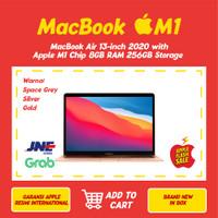 New Apple Macbook Air 2020 M1 Chip 8GB RAM 256GB SSD 13.3 Inch
