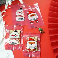 plastik cookies Sealer Natal / plastik Xmas Sealer 7x10 Santa/snowman