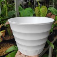 Pot Bunga Mahkota 20 / Pot Tanaman Plastik