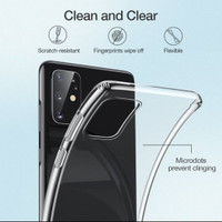 Softcase A21 Samsung Silicon Bening Case Clear HD Casing Softshell