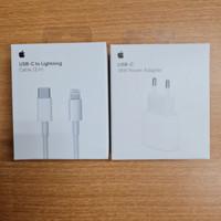 Apple adaptor power 18w USB-C+kabel cabel usb C-to lightning 2 meter
