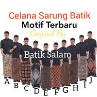 SARUNG CELANA BATIK ORIGINAL MOTIF TERBARU BATIK PEKALONGAN INDONESIA