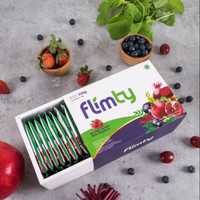Flimty Fiber 1 box 16 Sachets Pelangsing Ampuh Halal BPOM