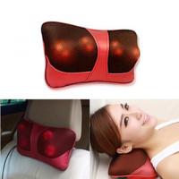 Bantal Pijat Shiatsu Car Heat Neck Massage Pillow 8028