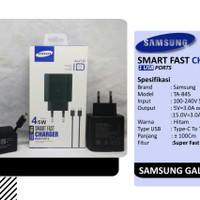 CHARGER SAMSUNG S20 ULTRA 45W SUPER FAST CHARGING ORIGINAL 100% TIPE C