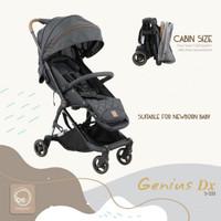 Stroller Baby Elle / BabyElle Genius Kereta Dorong Bayi 352 - Red