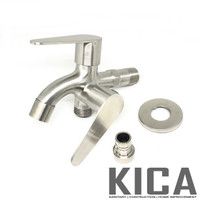 Keran Cabang / Kran Shower / Kran Cabang Air Stainless Steel GROSIR