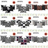 sarung bantal sofa 40 x 40 set 1