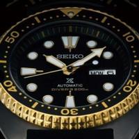 Jam tangan Seiko Mods Black Gold