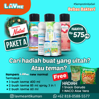 Lavme Anti Bacterial Spray - Paket Hampers Natal A