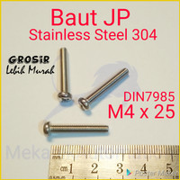 Baut JP M4 x 25 SUS304