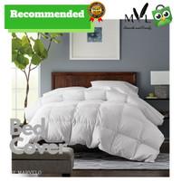 BED COVER SPREI SET KATUN JEPANG King Koil Size 200 - Putih