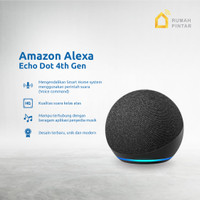 Amazon Echo Dot 4th Gen Alexa Voice Smart Speaker