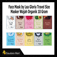 Face Mask by Lea Gloria Travel Size 10Gram - Face Mask Organik Travel