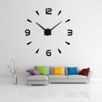 Jam Dinding Besar DIY Giant wall clock Raksasa 3D Unik 40cm Jumbo