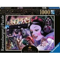 RAVENSBURGER - DISNEY PRINCESS HEROINES, SNOW WHITE PUZZLE 1000 PCS