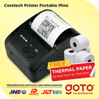 Coretech Mino Mobile Reciept Mini Printer Portable Thermal Pos