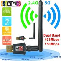 UAC08 Dual Band 5GHz & 2.4GHz Mini USB WiFi Adapter High Gain