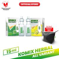 Komix Herbal Tube Lemon & Original FREE Pouch