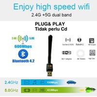 UAC17-2DB Usb wifi dongle Bluetooth adapter Dual Band Wireless 2.4G 5G