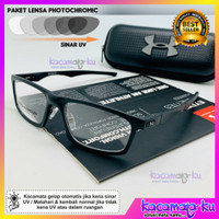 Frame Kacamata Minus Pria Photocromic Sporty Kacamata Baca