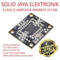 KIT POWER MINI PAM8610 PAM 8610 STEREO 2X15W CLASS D AMPLIFIER 30W